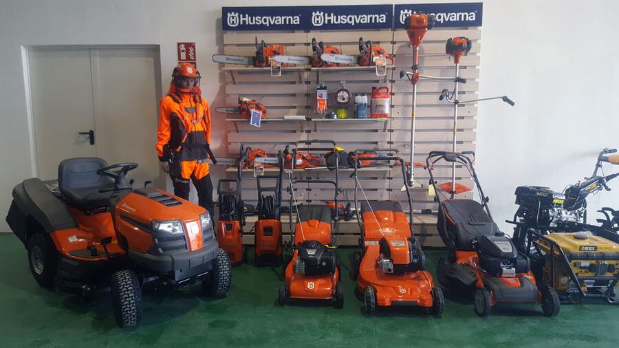 Venta y reparación de maquinaria huerto y jardin Husqvarna Huesca